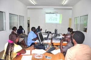 Gabon training